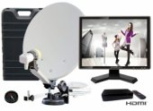 Kit TV satelit camping complet